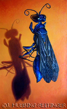Waisted wasp by Jessa Huebing-Reitinger